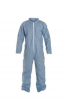 DuPont ProShield 6 SFR Coverall. Collar. Open Wrists and Ankles. Serged Seams. Blue, Packaged Individually. MD