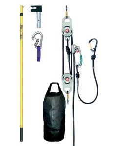 MSA 10030025 Fall Protection Rescue Utility System Kit with Remote Hook & Pole