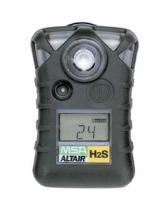 MSA ALTAIR Single-Gas Detector for H2S (10, 15 ppm)