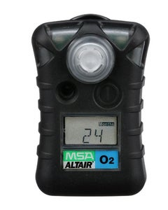 MSA ALTAIR Single-Gas Detector for O2 (19.5%, 23% volume)