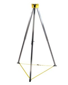 MSA 10102002 Workman Aluminum Tripod for Confined Spaces