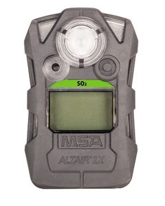 MSA ALTAIR 2X Single Gas Detector for SO2 (2, 5 ppm), Gray Case