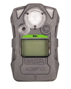 MSA ALTAIR 2X Single Gas Detector for NO2 (2.5, 5 ppm), Gray Case