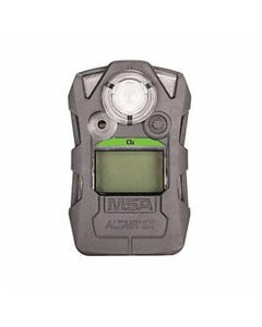 MSA ALTAIR 2X Single Gas Detector for Cl2 (0.5, 1 ppm), Gray Case