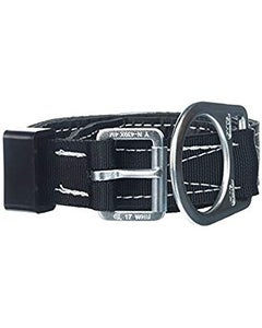 Miller Lined Body Belt with Tongue Buckle (Single D-Ring), Universal