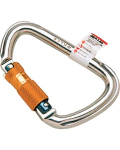 Miller Lightweight Aluminum Twist-Lock Carabiner