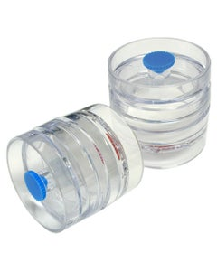 PTFE Filters Preloaded in Cassettes (0.3µm, 37mm) for SARS and Anthrax Sampling, 50/pk