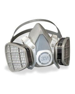 Organic Vapor Respirator Assembly