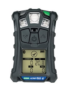 MSA ALTAIR 4XR Multigas Detector (LEL, O2, H2S, CO), Charcoal Case