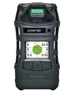 MSA ALTAIR 5X Multigas Detector (LEL, O2, H2S, CO, PID), Color Display, Charcoal Case, Instrument Only