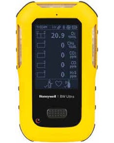 Honeywell BW Ultra (O2, LEL, H2S, CO, CO2)