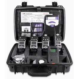 Wireless Confined Space Entry ConneXt Pack, 4 Units QRAE 3 LEL, O2, CO, H2S Diffusion 1 EchoView Host, Accessories  (F04R-B4211-000)