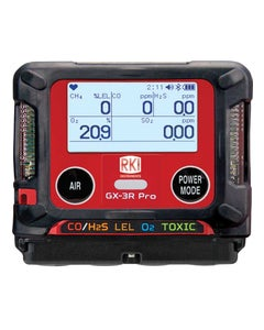 GX-3R Pro Gas Detector with Bluetooth