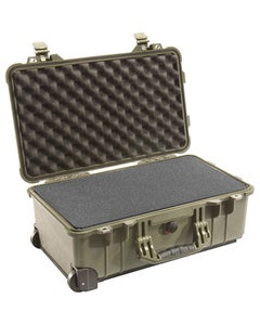 Pelican 1510 Carry On Case with Foam (OD Green)