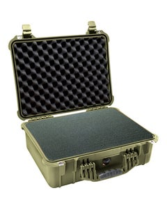 Pelican 1550 Protector Medium Case with Foam (OD Green)