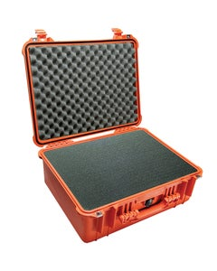 Pelican 1550 Protector Medium Case with Foam (Orange)