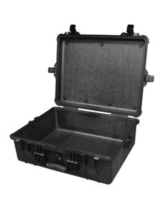 Pelican 1600NF Protector Large Case without Foam (Black)
