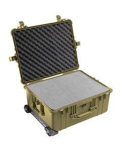 Pelican 1610 Protector Large Case with Foam (OD Green)