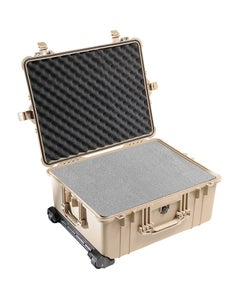 Pelican 1610 Protector Large Case with Foam (Tan)
