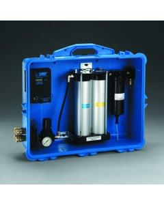 Portable Compressed Air Filter & Regulator Panel, 8-outlet
