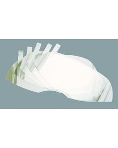 Honeywell North Safety 80836A Peel-Off Respirator Lens Cover (Pack of 15)