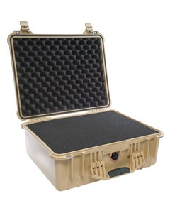 Pelican 1550 Protector Medium Case with Foam (Tan)