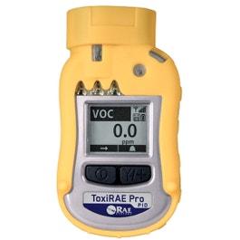RAE Systems ToxiRAE Pro PID Monitor-10.6 eV PID-0.1 - 2,000 ppm-Datalogging-Wireless (900 MHz)