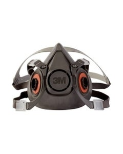 3M 6300 Half Facepiece Reusable Respirator - Large