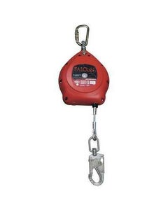 Honeywell Miller MP20P-Z7/20FT Falcon Self-Retracting Lifelines with Stainless Steel Swivel