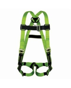Miller DuraFlex Python Harness (Sliding Back D-Ring, Tongue Buckle Leg Straps & Mating Buckle Leg Straps), Small/Medium