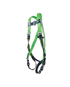 Miller DuraFlex Python Harness (Sliding Back D-Ring, Tongue Buckle Leg Straps & Mating Buckle Leg Straps), Universal