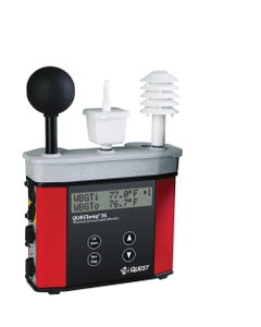 "TSI QUESTemp QT-36 Heat Stress Monitor with Tri-Sensor Kit & 2"" Globe"