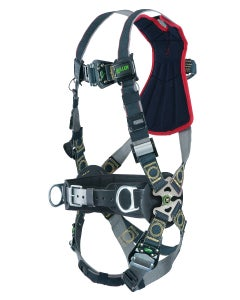 Miller Revolution Arc-Rated Harness (Back D-Ring, Quick-Connect Buckle Leg Straps), Universal