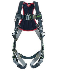 Miller Revolution Arc-Rated Harness (Back & Side D-Rings, Tongue Buckle Leg Strap, Removable Belt), Universal
