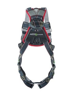 Miller Revolution Arc-Rated Harness (Back D-Ring, Tongue Buckle Leg Straps), Universal