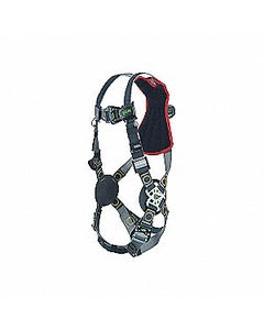 Miller Revolution Arc-Rated Harness (Back D-Ring, Quick-Connect Buckle Leg Straps, Rescue Loops), Universal