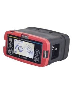 RX-8000, 0-100% LEL & 0-100% vol HC, & 0-25% O2, (isobutane calibration) with alkaline battery