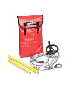 Miller SafEscape ELITE Rescue/Descent Device, 150' with Hoisting Wheel